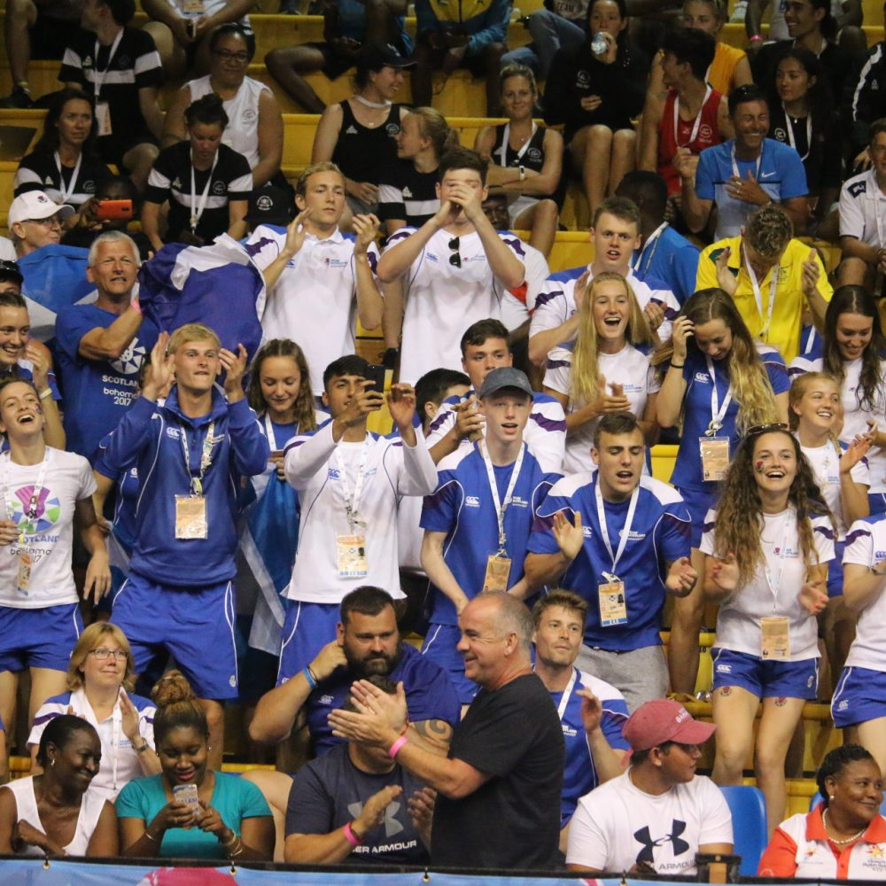 Team Scotland, Commonwealth Youth Games, Leadership, Teamwork, Passion, Support
